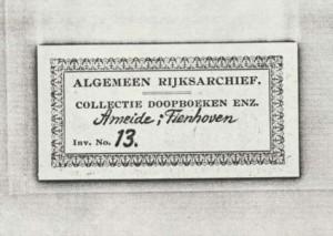 Ameide DTB 13 Register van aangegeven lijken. 1806-1811 a