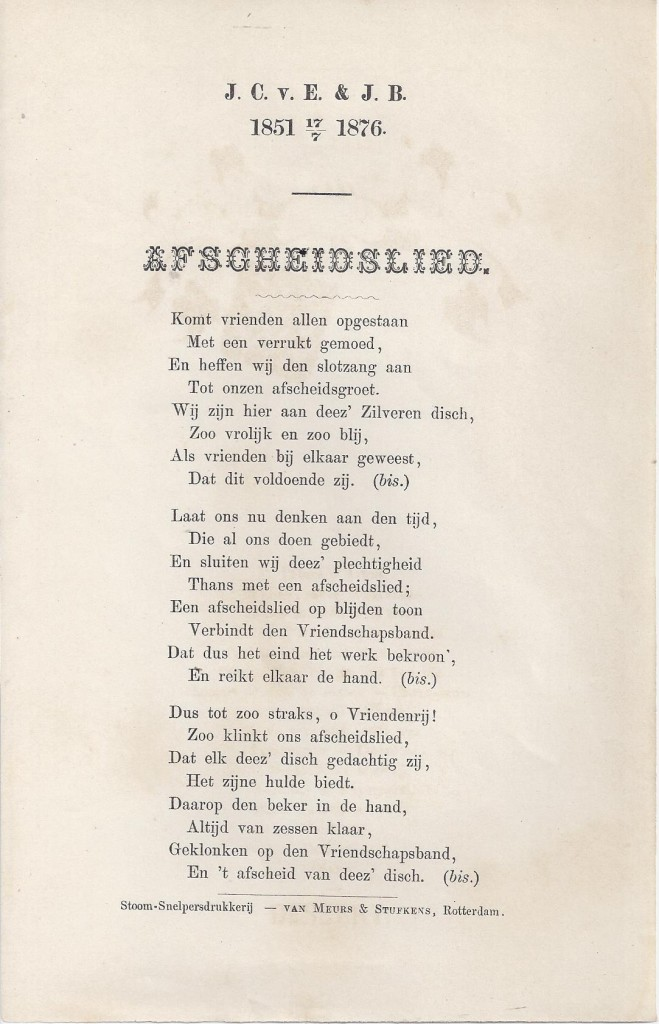 van Eeten-Begram_zilveren bruiloftslied-refrein_'Afscheidslied'_17-07-1876