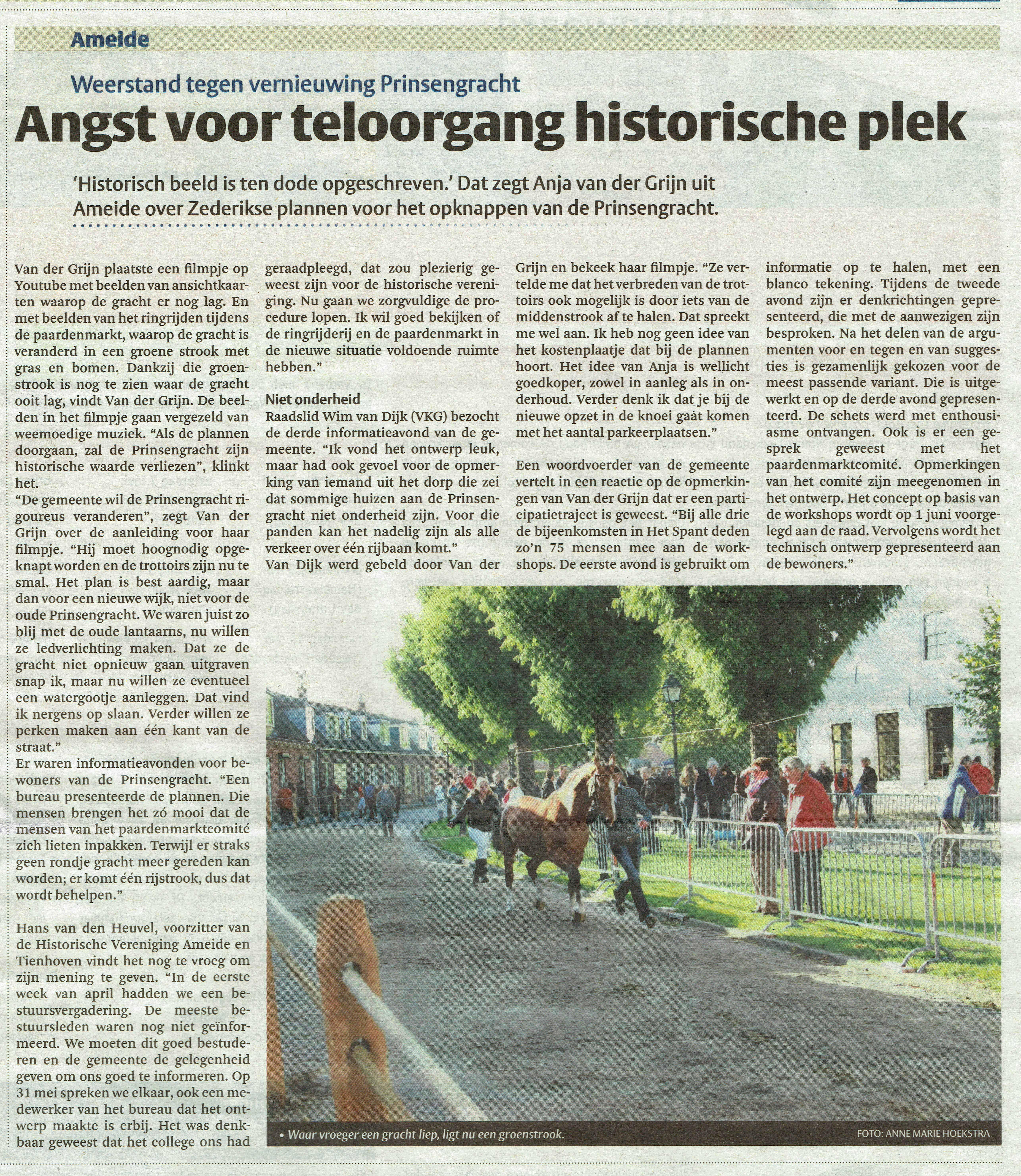 Prinsengracht Het Kontakt 28-04-2016