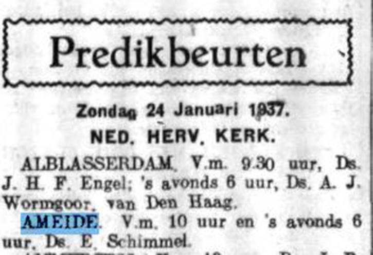 Schoonhovensche Courant 07762 1937-01-22 artikel 01