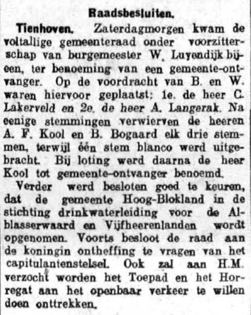 Schoonhovensche Courant 07778 1937-03-01 artikel 01