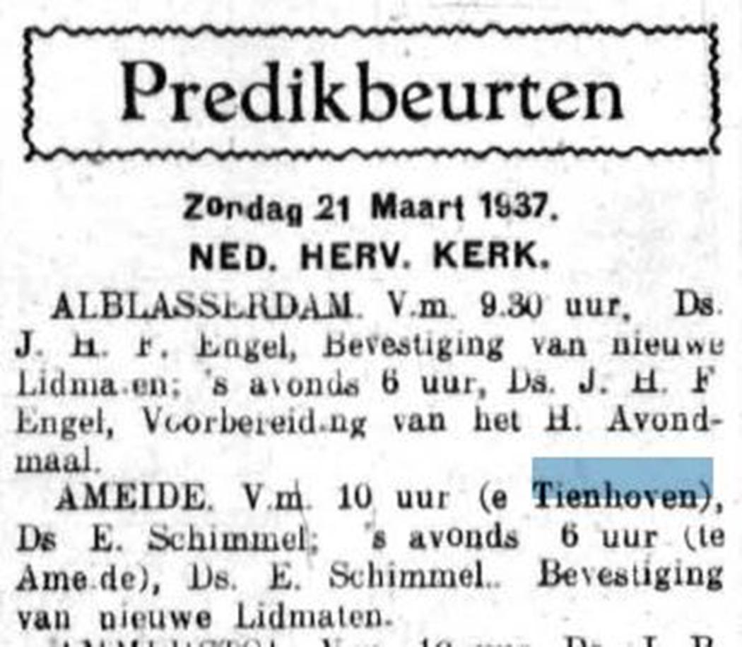 Schoonhovensche Courant 07786 1937-03-19 artikel 01
