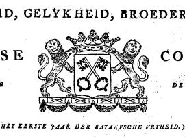 Leydse courant 1795-03-30 bladz 1 kop