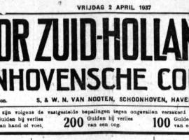 Schoonhovensche Courant 06791 1937-04-02 kop